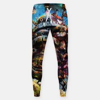 Miniaturka howl's moving castle Cotton sweatpants, Live Heroes