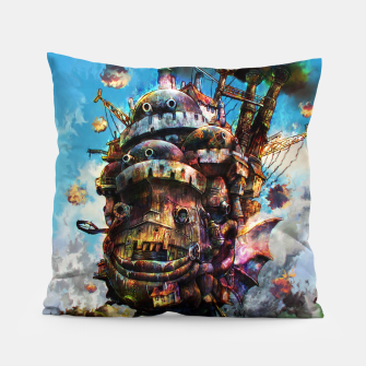 Miniatur howl's moving castle Pillow, Live Heroes