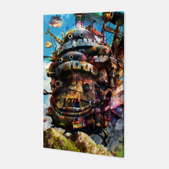 Miniaturka howl's moving castle Canvas, Live Heroes