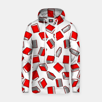 Thumbnail image of Polka Dot Books Pattern II Cotton hoodie, Live Heroes