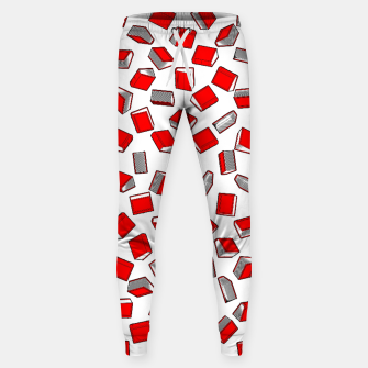 Thumbnail image of Polka Dot Books Pattern II Cotton sweatpants, Live Heroes