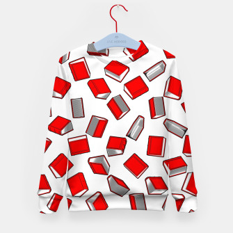 Thumbnail image of Polka Dot Books Pattern II Kid's sweater, Live Heroes