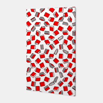 Thumbnail image of Polka Dot Books Pattern II Canvas, Live Heroes