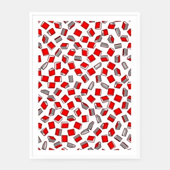 Thumbnail image of Polka Dot Books Pattern II Framed poster, Live Heroes