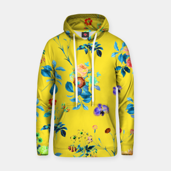 Thumbnail image of Floral Shower II Cotton hoodie, Live Heroes