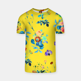 Thumbnail image of Floral Shower II T-shirt, Live Heroes