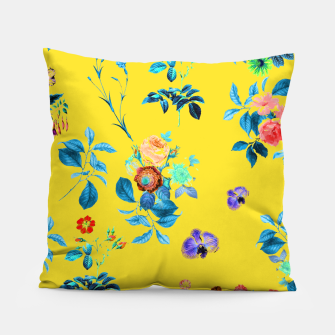 Thumbnail image of Floral Shower II Pillow, Live Heroes