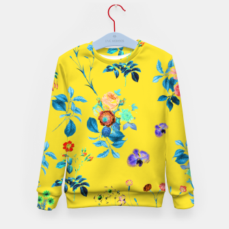 Thumbnail image of Floral Shower II Kid's sweater, Live Heroes