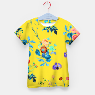 Thumbnail image of Floral Shower II Kid's t-shirt, Live Heroes