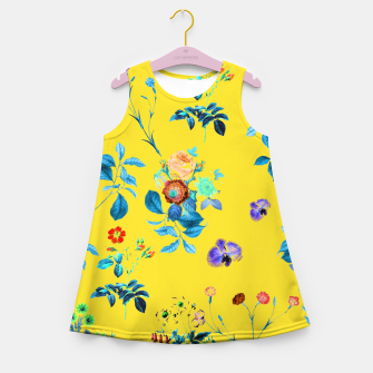 Thumbnail image of Floral Shower II Girl's summer dress, Live Heroes