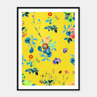 Thumbnail image of Floral Shower II Framed poster, Live Heroes