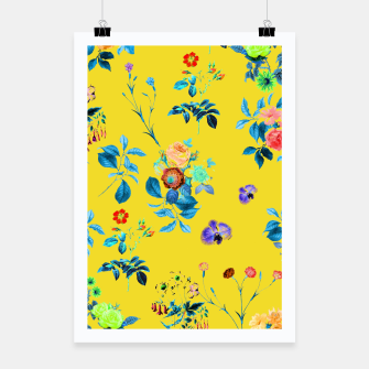 Thumbnail image of Floral Shower II Poster, Live Heroes