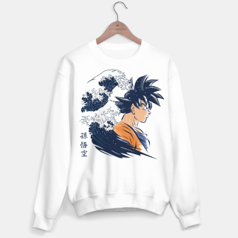 Miniature de image de The Wave Warrior Sudadera regular, Live Heroes