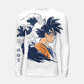 Miniatur The Wave Warrior Longsleeve rashguard, Live Heroes