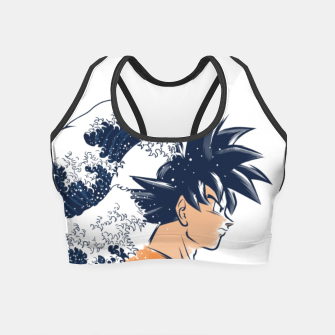 The Wave Warrior Crop Top obraz miniatury