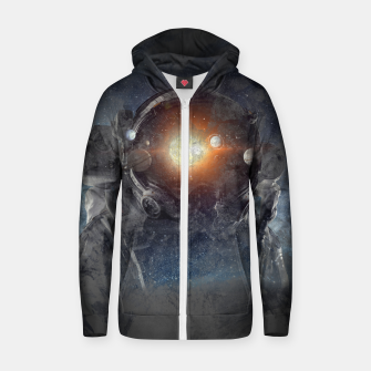 Meybe Cotton zip up hoodie thumbnail image