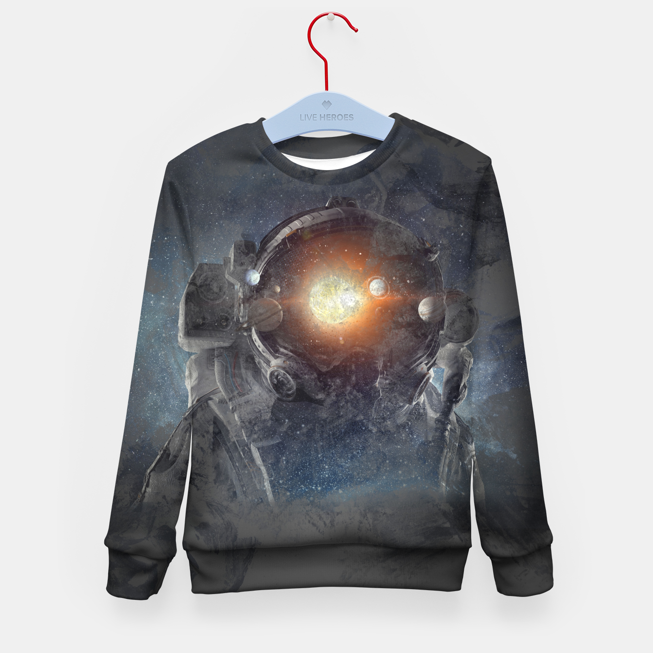 Image of Meybe Kid's sweater - Live Heroes