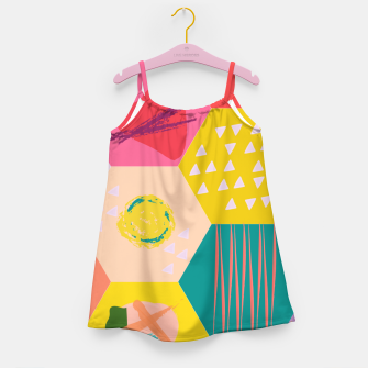 Miniaturka Abstract Game Girl's dress, Live Heroes