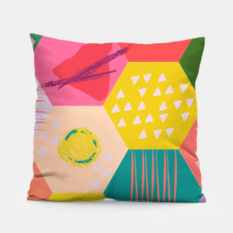 Miniaturka Abstract Game Pillow, Live Heroes