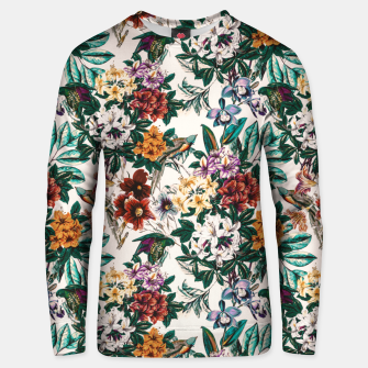 Thumbnail image of Floral and exotic birds-0010 Sudadera de algodón, Live Heroes