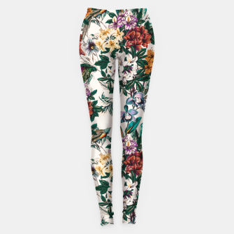 Miniaturka Floral and exotic birds-0010 Leggings, Live Heroes