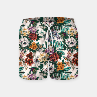 Thumbnail image of Floral and exotic birds-0010 Pantalones de baño, Live Heroes
