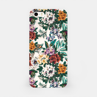 Floral and exotic birds-0010 Carcasa por Iphone miniature