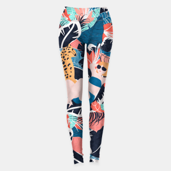 Miniature de image de Yellow Hair Tropical Girl with Cheetah Leggings, Live Heroes