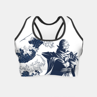 Thumbnail image of Wave piccolo Crop Top, Live Heroes