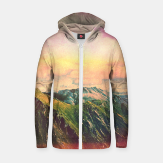 Imagen en miniatura de Slumpy Lands Cotton zip up hoodie, Live Heroes