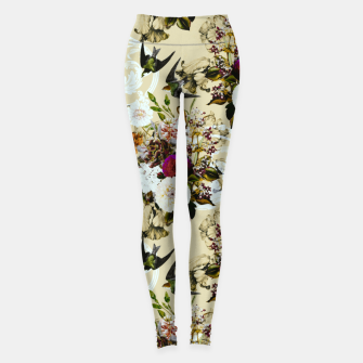 Miniature de image de Baroque flower bouquet II Leggings, Live Heroes