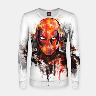 deadpool Woman cotton sweater miniature