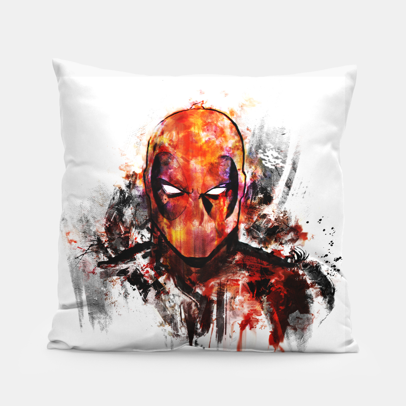 Image of deadpool Pillow - Live Heroes