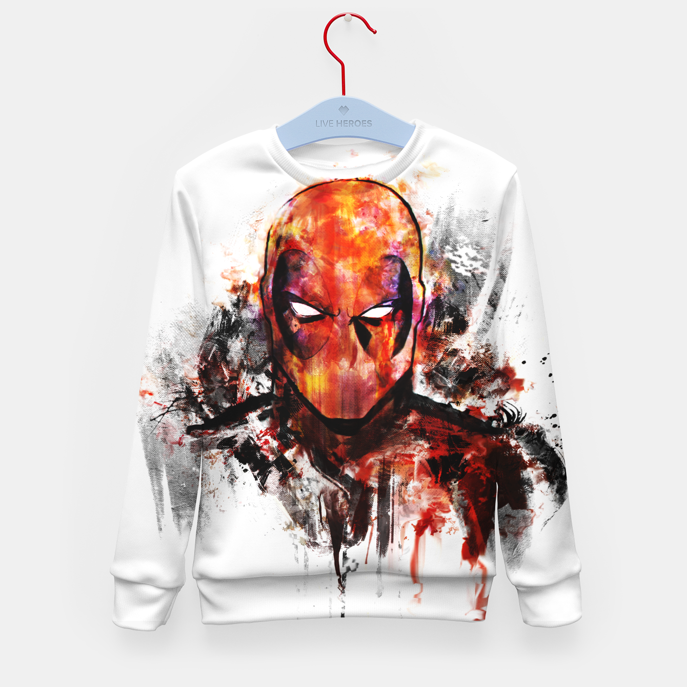 Image of deadpool Kid's sweater - Live Heroes