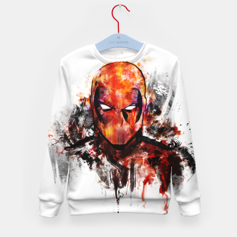Thumbnail image of deadpool Kid's sweater, Live Heroes