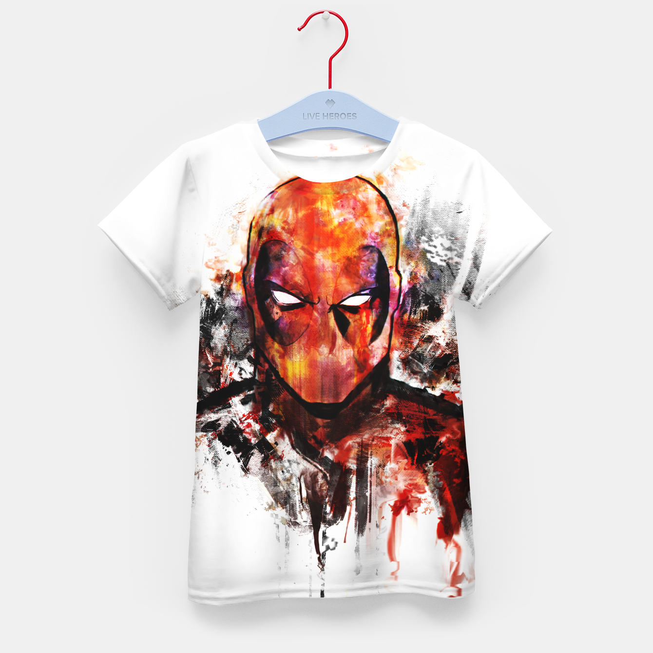 Image of deadpool Kid's t-shirt - Live Heroes