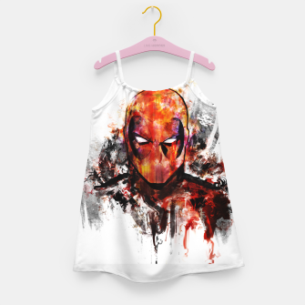 deadpool Girl's dress miniature