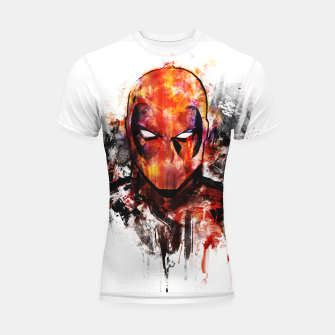 deadpool Shortsleeve rashguard miniature