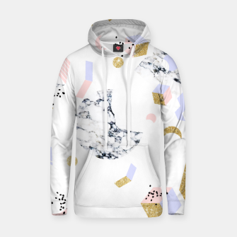 Miniaturka Marble Moon Abstraction Cotton hoodie, Live Heroes
