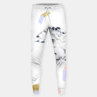 Miniaturka Marble Moon Abstraction Cotton sweatpants, Live Heroes