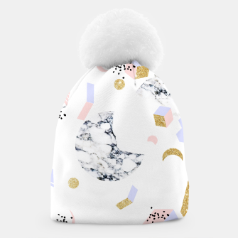 Miniaturka Marble Moon Abstraction Beanie, Live Heroes