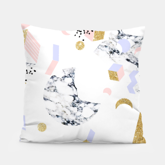 Miniaturka Marble Moon Abstraction Pillow, Live Heroes