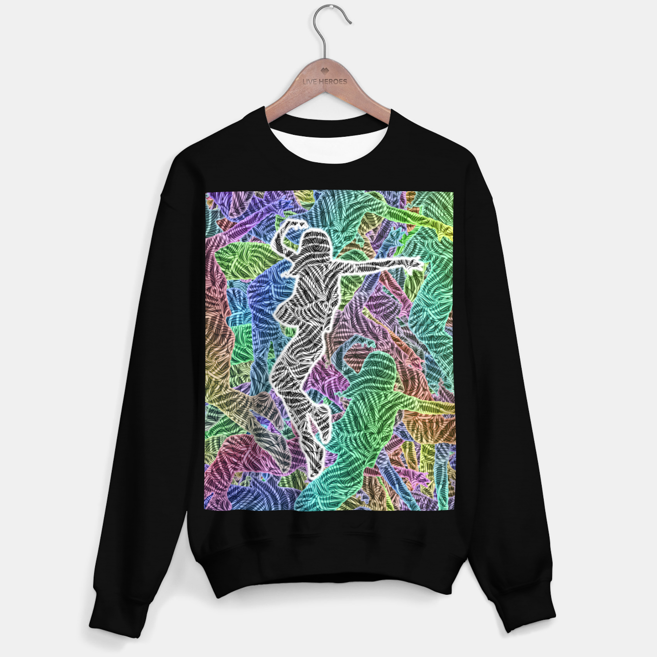 Image of Make Your Move Sweater regular - Live Heroes