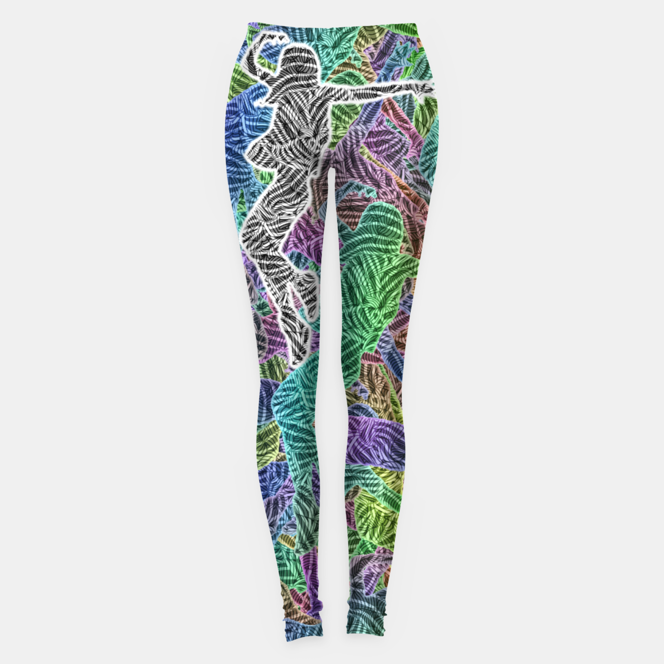 Image of Make Your Move Leggings - Live Heroes