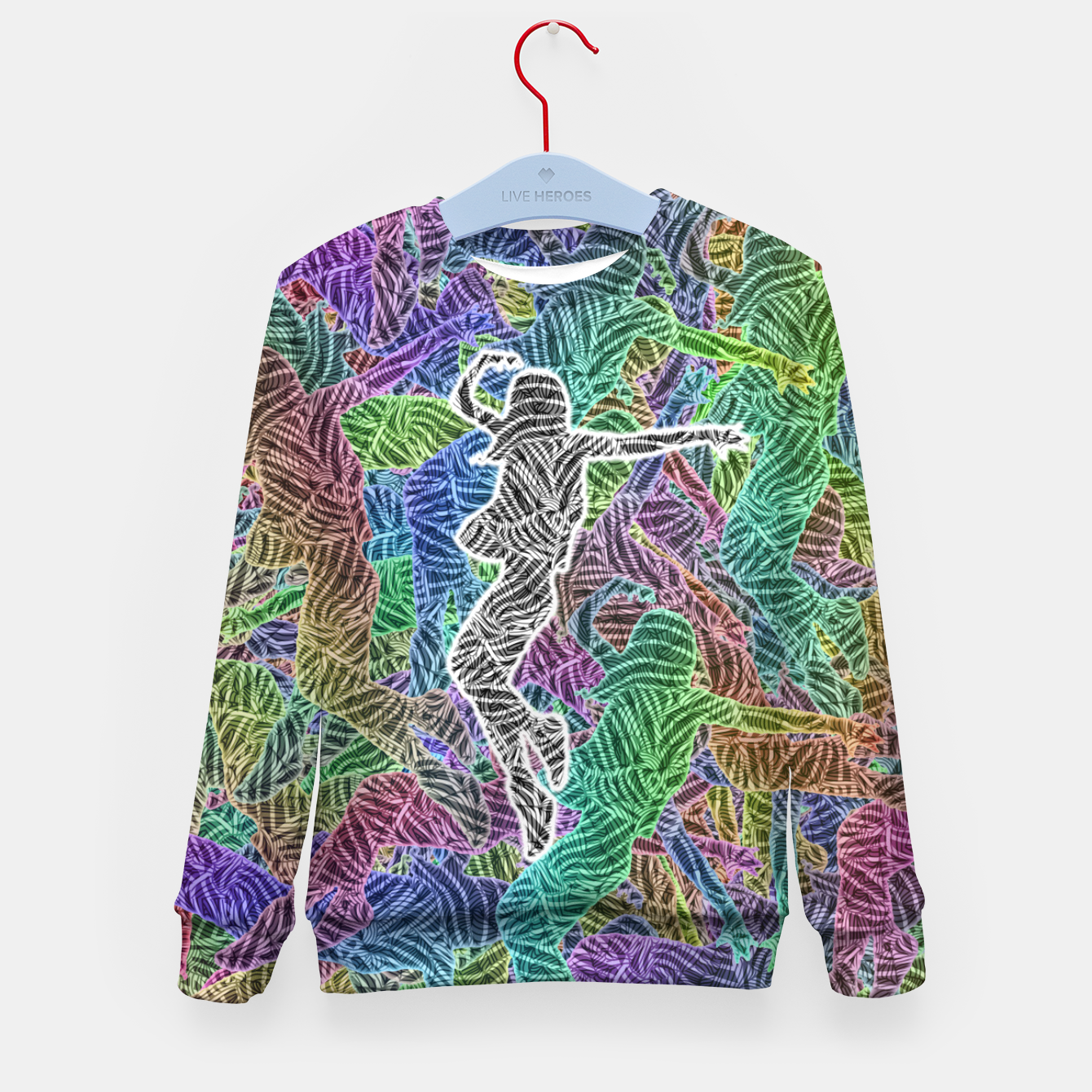 Image of Make Your Move Kid's sweater - Live Heroes