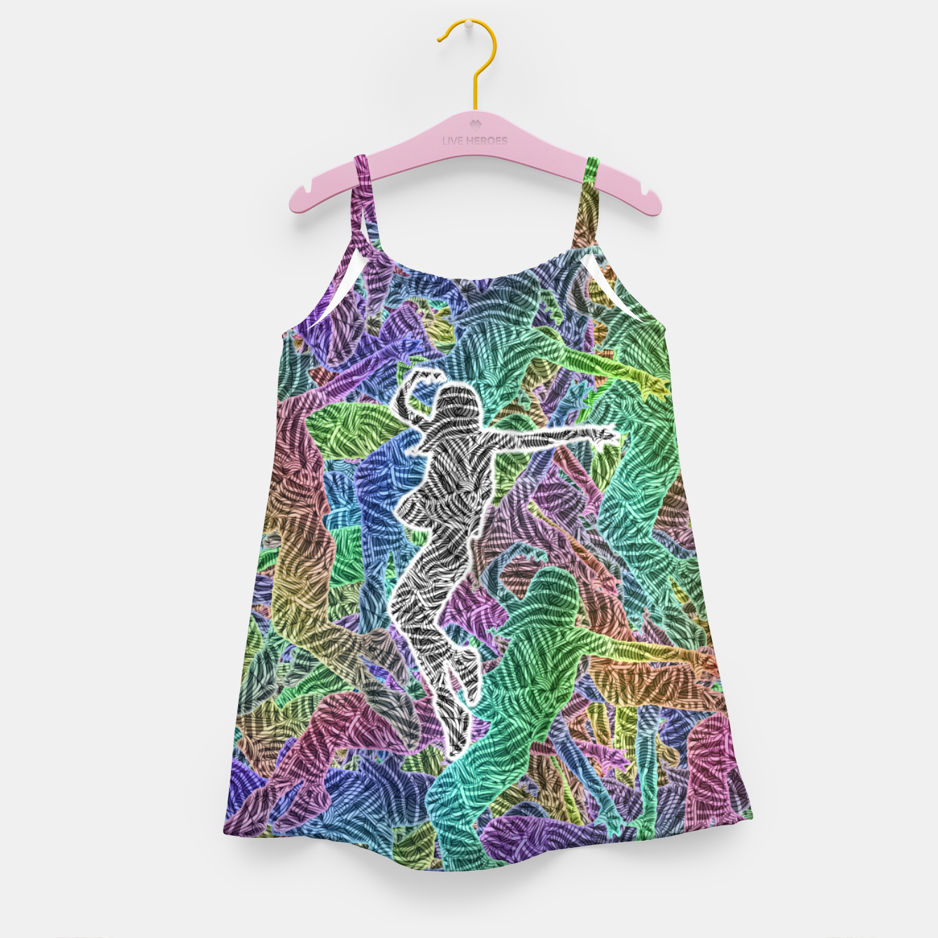 Image of Make Your Move Girl's dress - Live Heroes