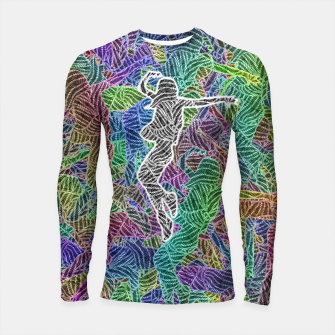 Thumbnail image of Make Your Move Longsleeve rashguard , Live Heroes