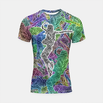 Thumbnail image of Make Your Move Shortsleeve rashguard, Live Heroes