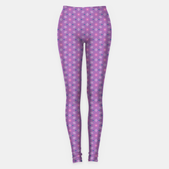 Thumbnail image of Girly Flowers  Leggings, Live Heroes