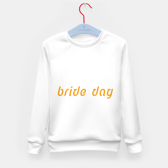 Thumbnail image of KIDS Sweater white, gold with Sign bride, Live Heroes